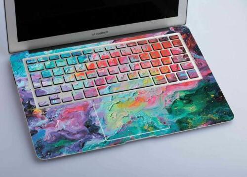 Oil Marble Macbook Decal Air Retina 13