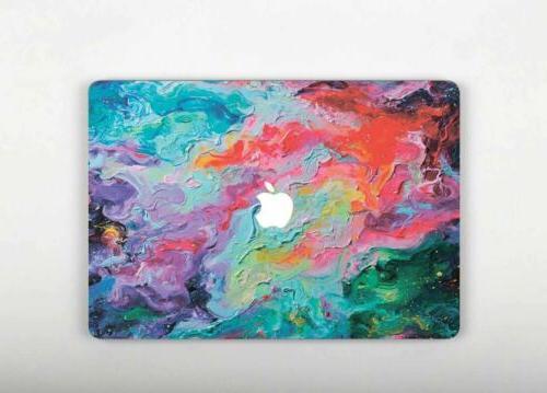 oil marble laptop sticker macbook pro 15