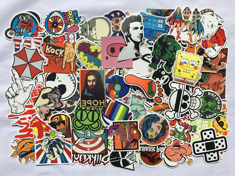 Pack of 100, 200, Notebook Vinyl Sticker