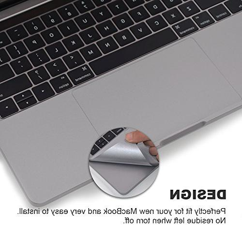 FORITO Cover Skin with Trackpad for New MacBook A1706 & A1708 without Bar, or