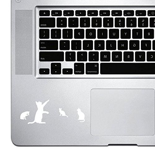 palm series 4 cats sticker