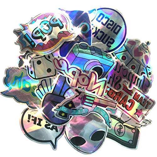 Laptop Stickers Cute Stickers Skateboard Stickers Decal Rainbow Lollipop