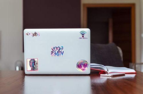 Godecal Laptop Cute Skateboard Stickers Decal Lollipop Laser