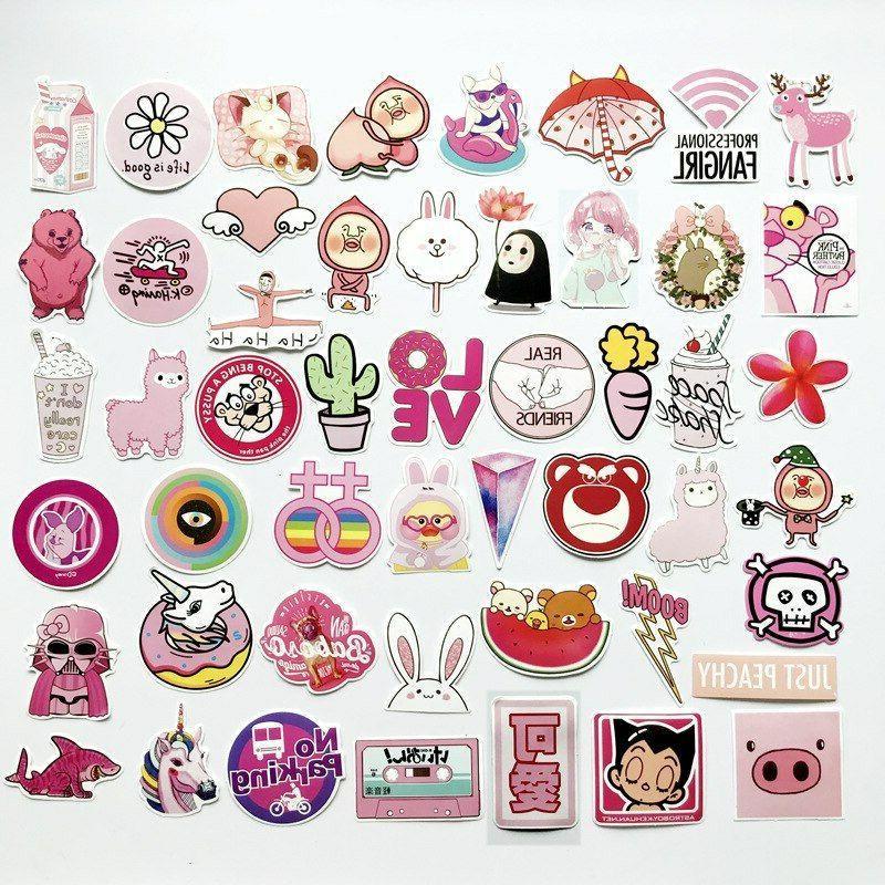 Pink Theme 50pcs