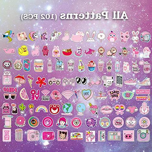 Pink Pop Cute Stickers for Party Girls Decal-Waterproof