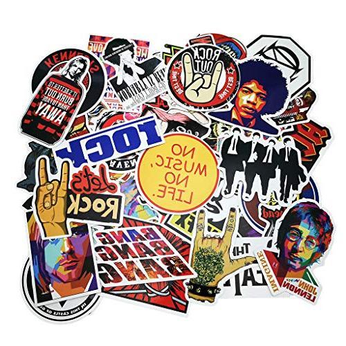 punk rock band stickers
