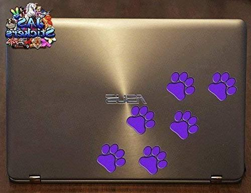 PURPLE ANIMAL Pet Cat Dog - - Stickers
