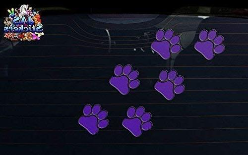 PURPLE Small ANIMAL Dog Pack - - Stickers