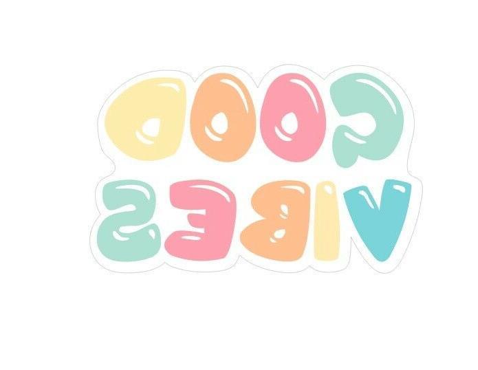 Q012 Good Sticker Sticker Laptop Water Macbook decal