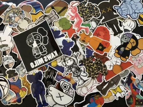 random 10pcs stickers luggage notebook laptop skateboard