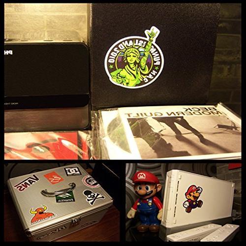 Cool Sticker Random Music Film Vinyl Guitar Travel Case Door Laptop Bike