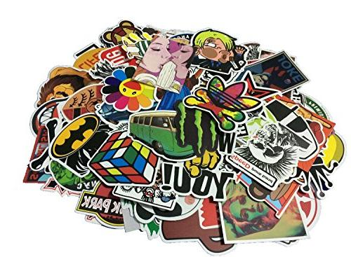 Fngeen Variety Motorcycle Luggage Decal Graffiti for