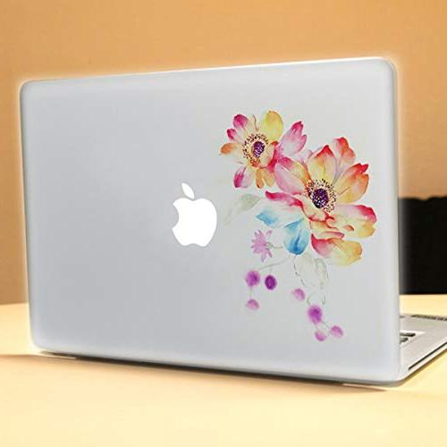 MacBook Decals Skin Mac Decal for Apple Retina13 A1278 A1466 A1304 Flowers 4 Pattern