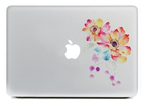 removable decorative pvc macbook decals