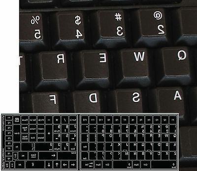 replacement english us keyboard sticker