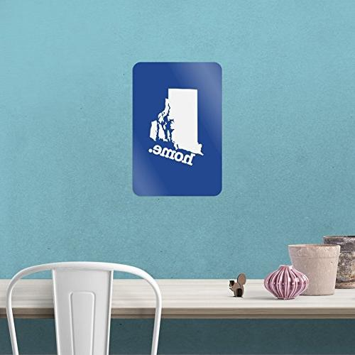 """Rhode State Officially Licensed Office Sticker 12"""""""