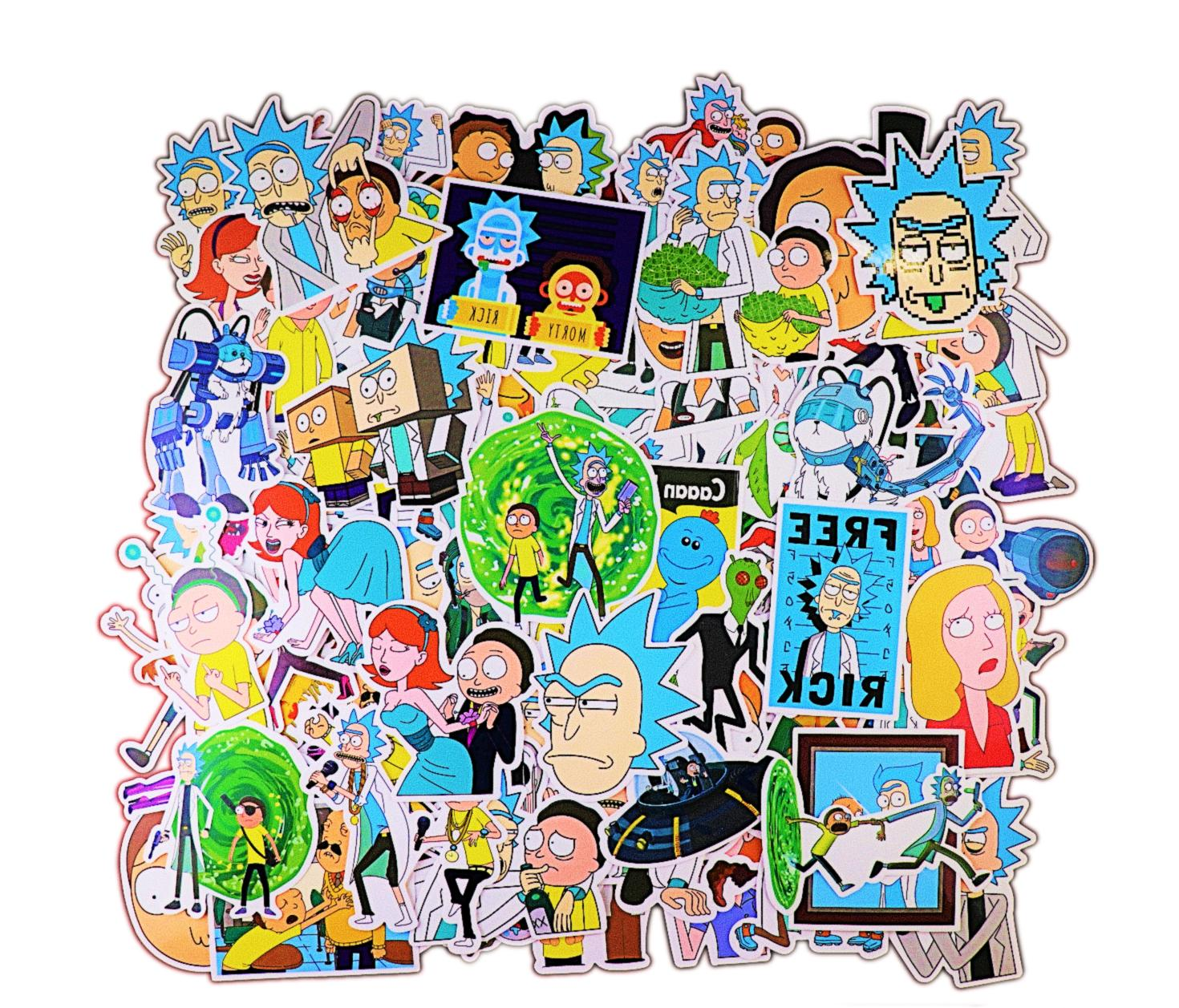 rick and morty 100 pcs stickers