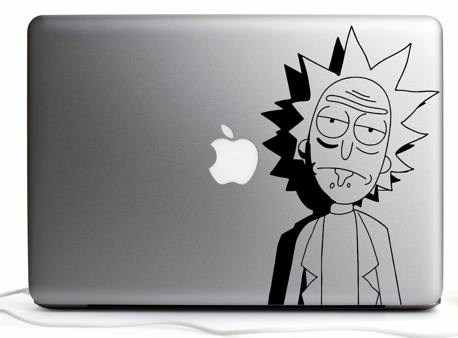 Rick and Morty Rick Vinyl Decal Stickers for Car/Laptop/Cons