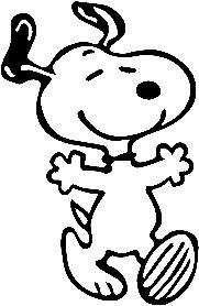 Snoopy #1~ Decal Cartoon Vinly Sticker Laptop Car Window Bla