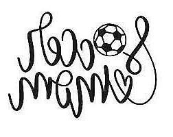 Soccer Mom~ Decal Cartoon Vinyl Sticker Laptop Car Window CH