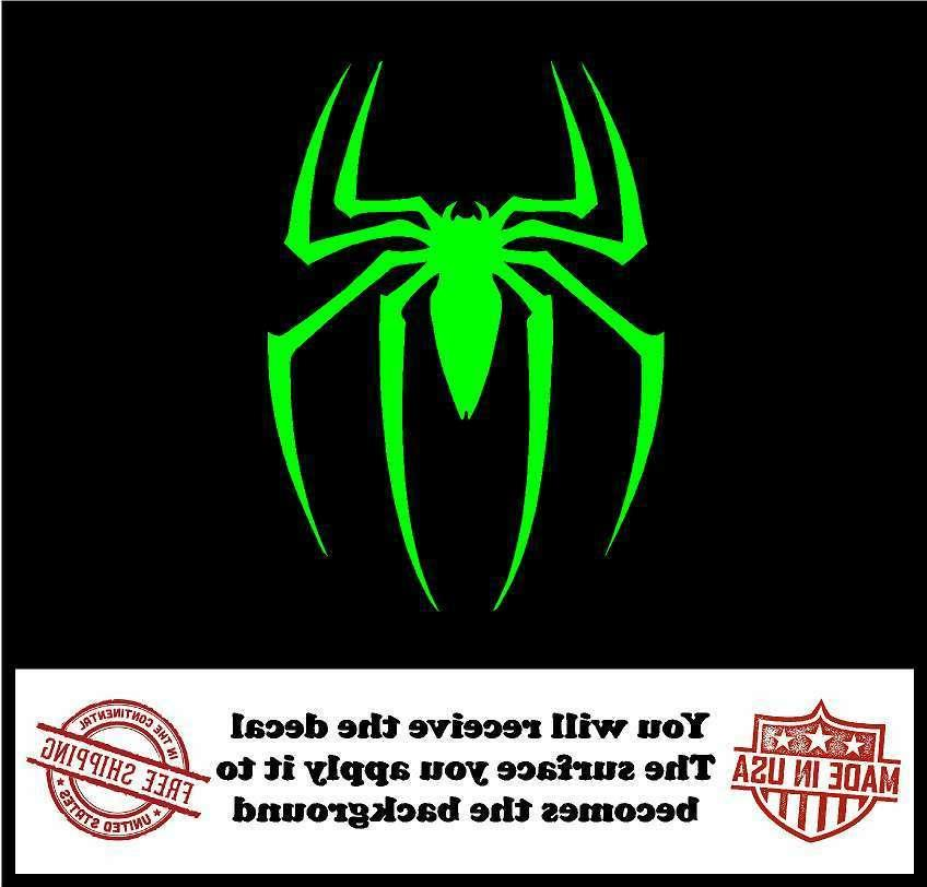 Spiderman Cut Decal - Truck Sticker
