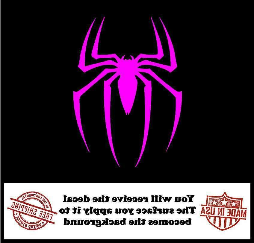 Spiderman Cut Car Truck Wall Laptop Sticker