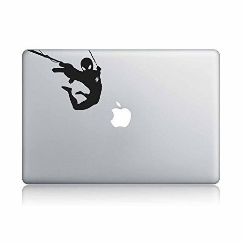 spiderman apple macbook laptop vinyl