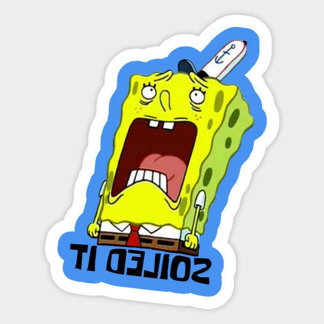 spongebob squarepants soiled it sobbing funny vinyl