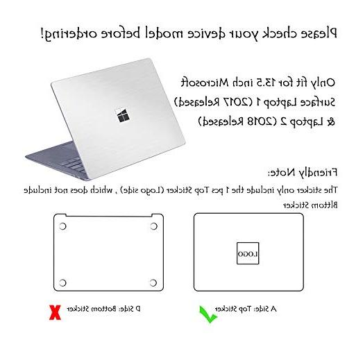 """Masino Sticker Decal Laptop Cover 13"""" 13.5 inch Microsoft Surface"""