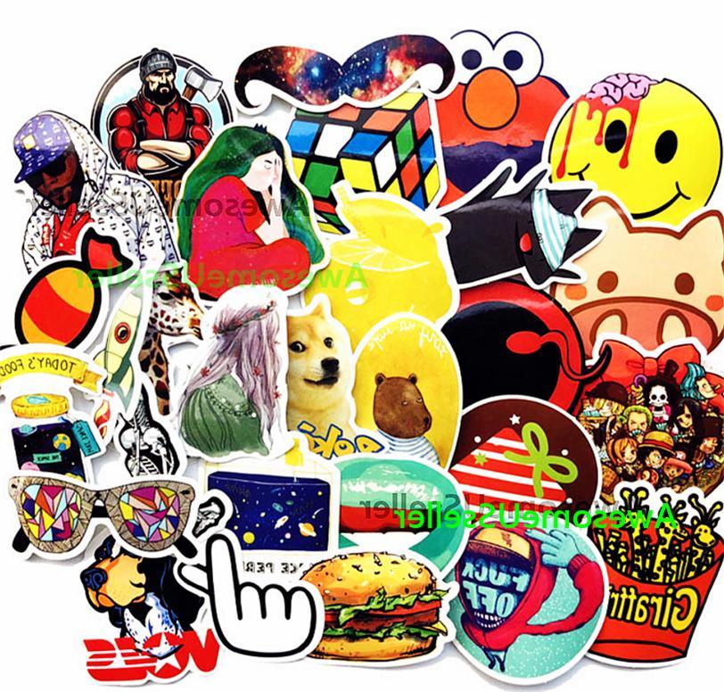 Stickers Skateboard Luggage Decals Sticker Laptop Vinyl
