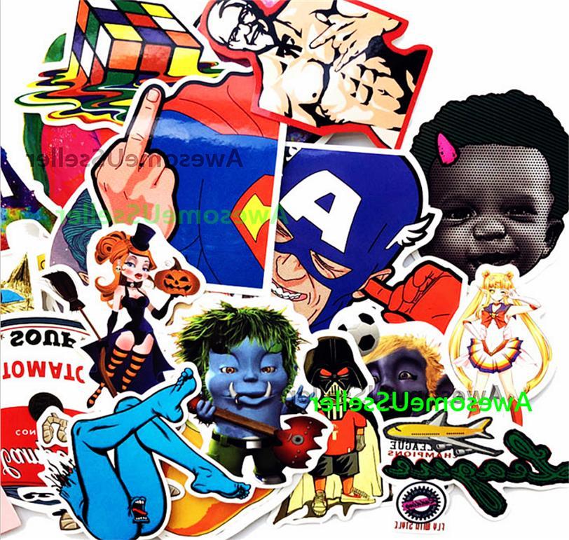 Stickers 200 Skateboard Luggage Decals Sticker