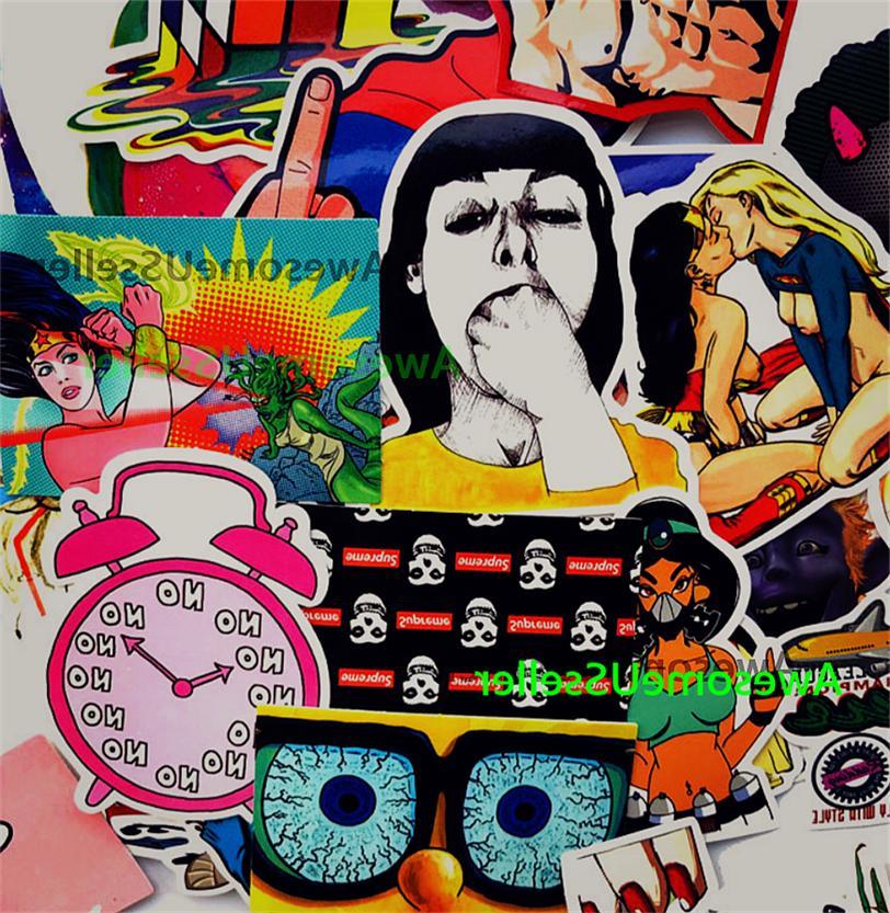 Stickers 200 Decals Adult Dope Sticker Vinyl Car