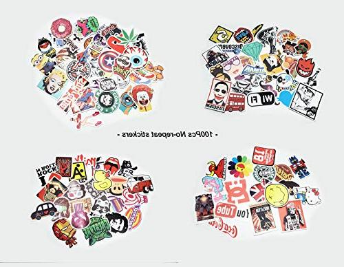 JTL Stickers Pack,Bunch of Brand Movies Hypebeast Vinyl Decals for Laptop Bumper,Motorcycle,Bicycle,Skateboard,Luggage