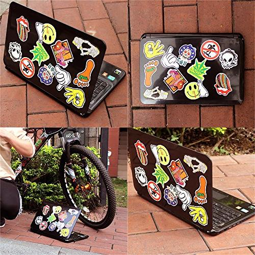 StillCool Stickers Pack 200 Skateboard Snowboard Vintage Luggage Bike Bicycle Decals Cool