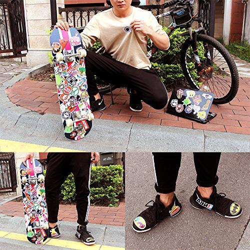 StillCool Stickers Pack 200 Vinyl Graffiti Luggage Car Bike Decals Mix Cool