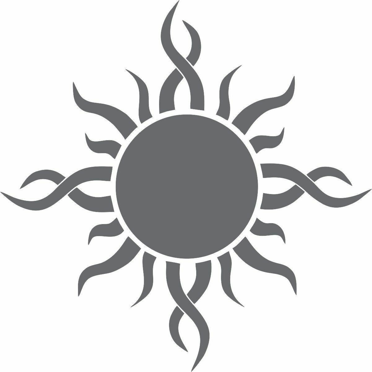 Sun Bumper Tribal Sun Window Art
