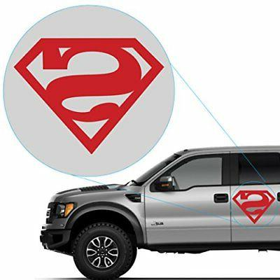 superman decal sticker for car window laptop