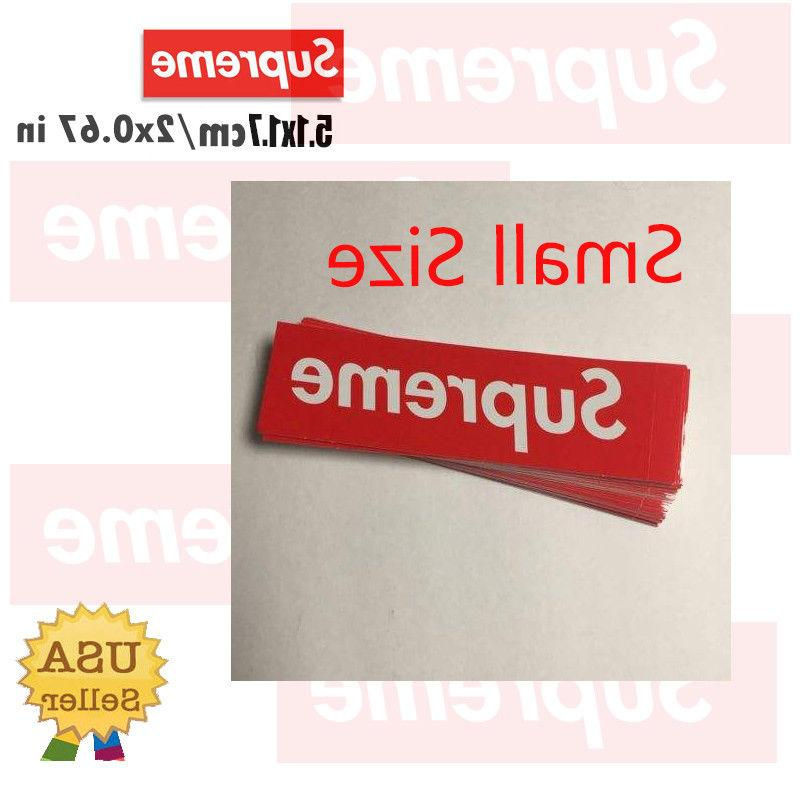 Supreme Box Logo Sticker Decal NYC Bumper Laptop