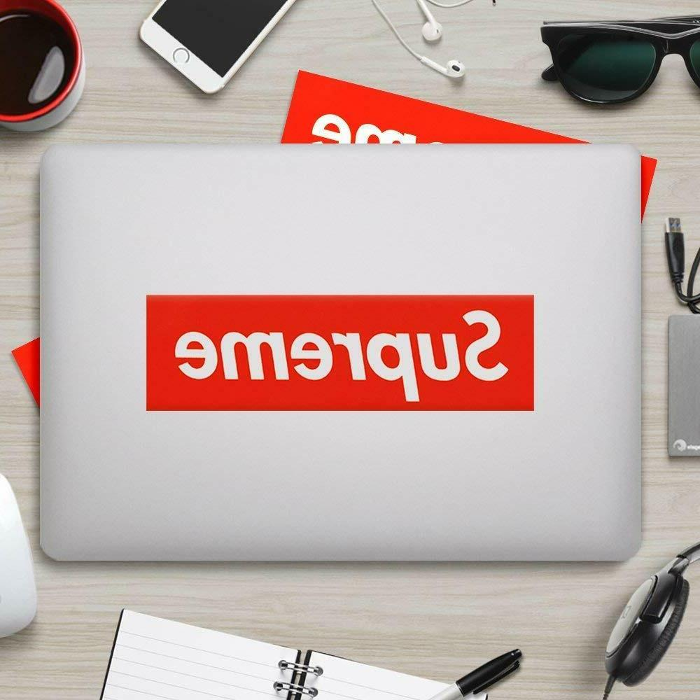 Supreme Sticker Waterproof Phone Laptop Decals
