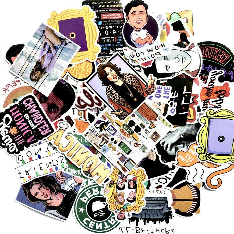 The Friends TV Skateboard Stickers Luggage Decals