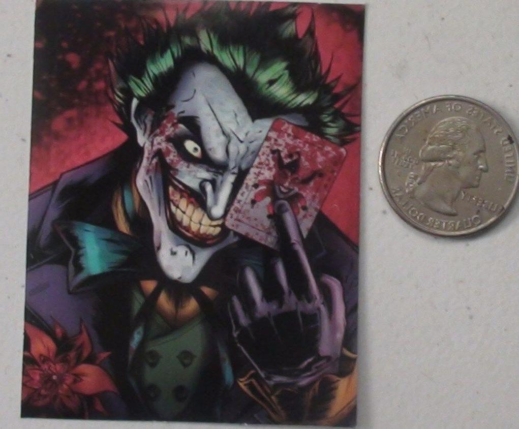 the joker sticker dc comics batman laptop cell bumper vinyl