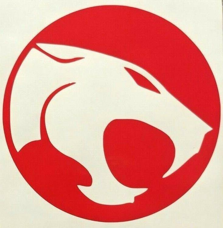 thundercats logo vinyl sticker decal home laptop