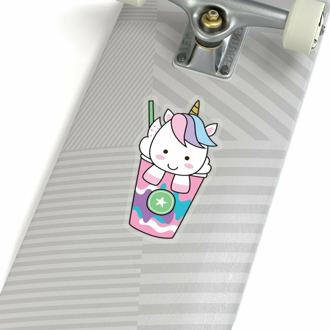 Unicorn stickers standing Laptop stickers unicorn decals