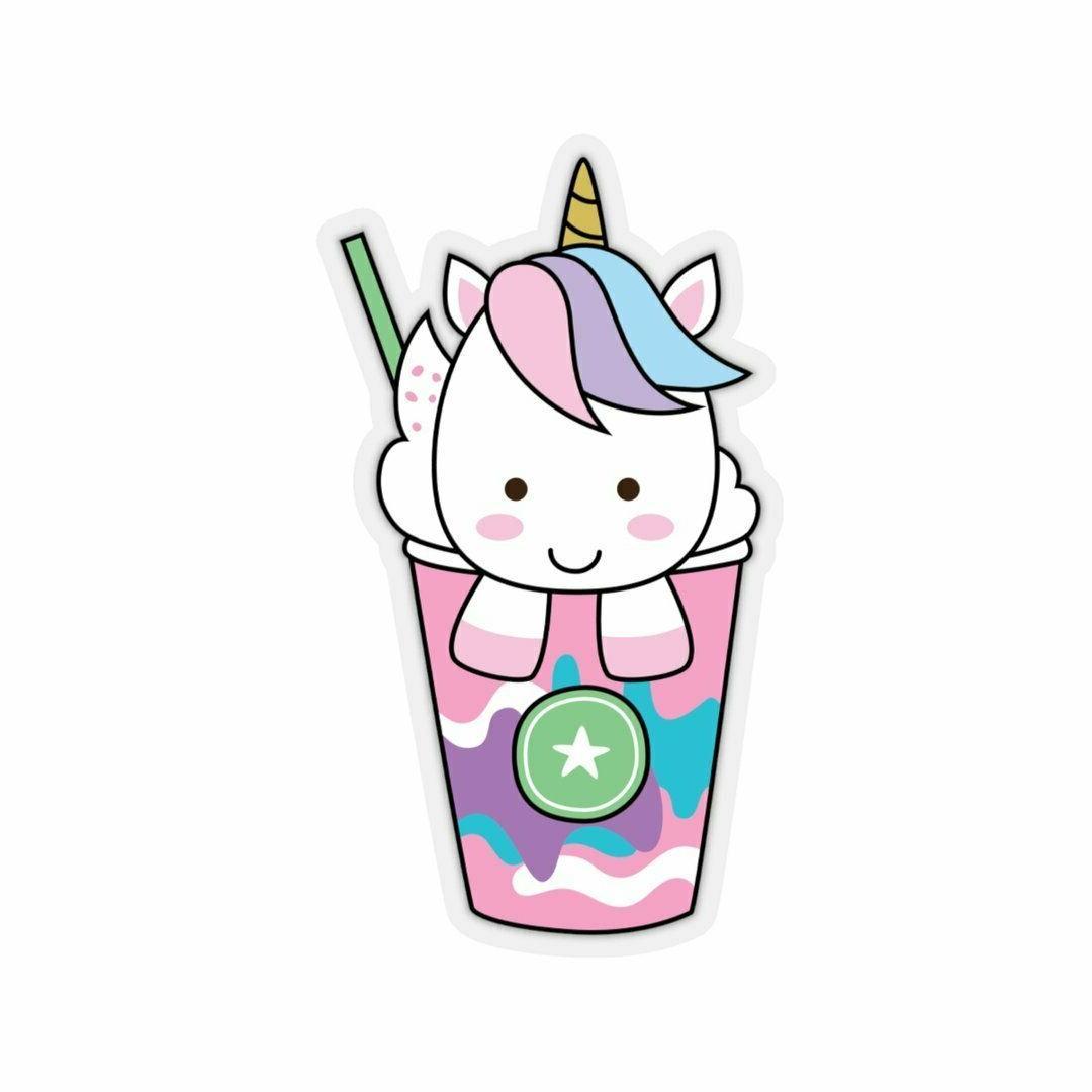 Unicorn stickers ice standing stickers with unicorn