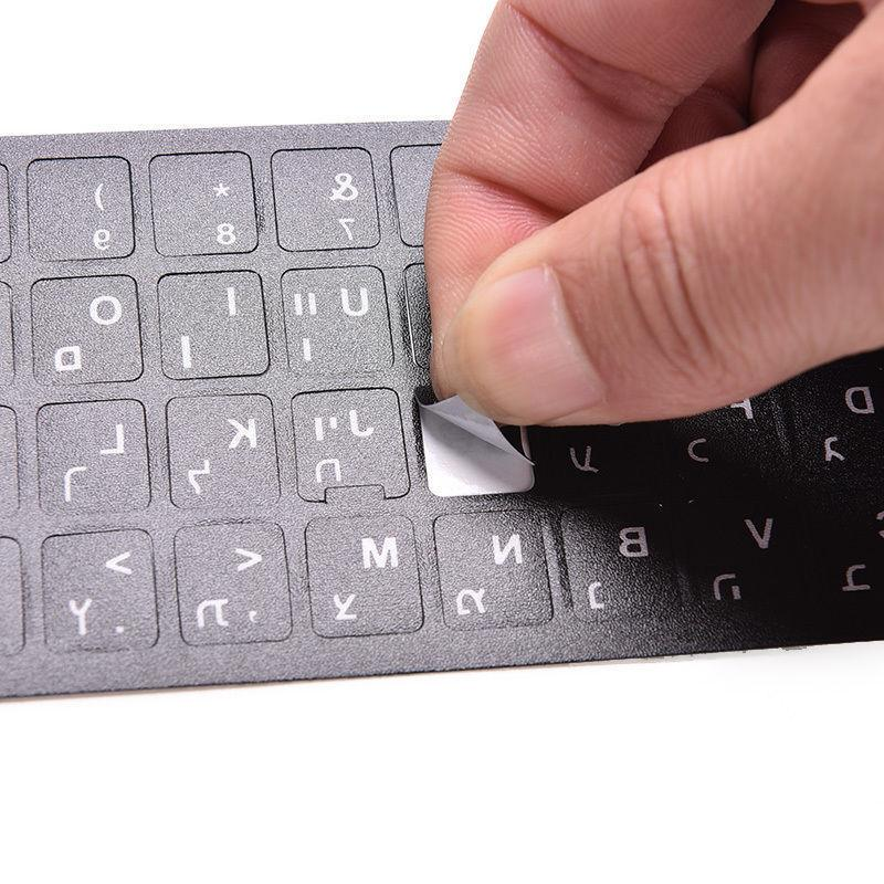 Keyboard Protection Letter Stickers Laptop PC English