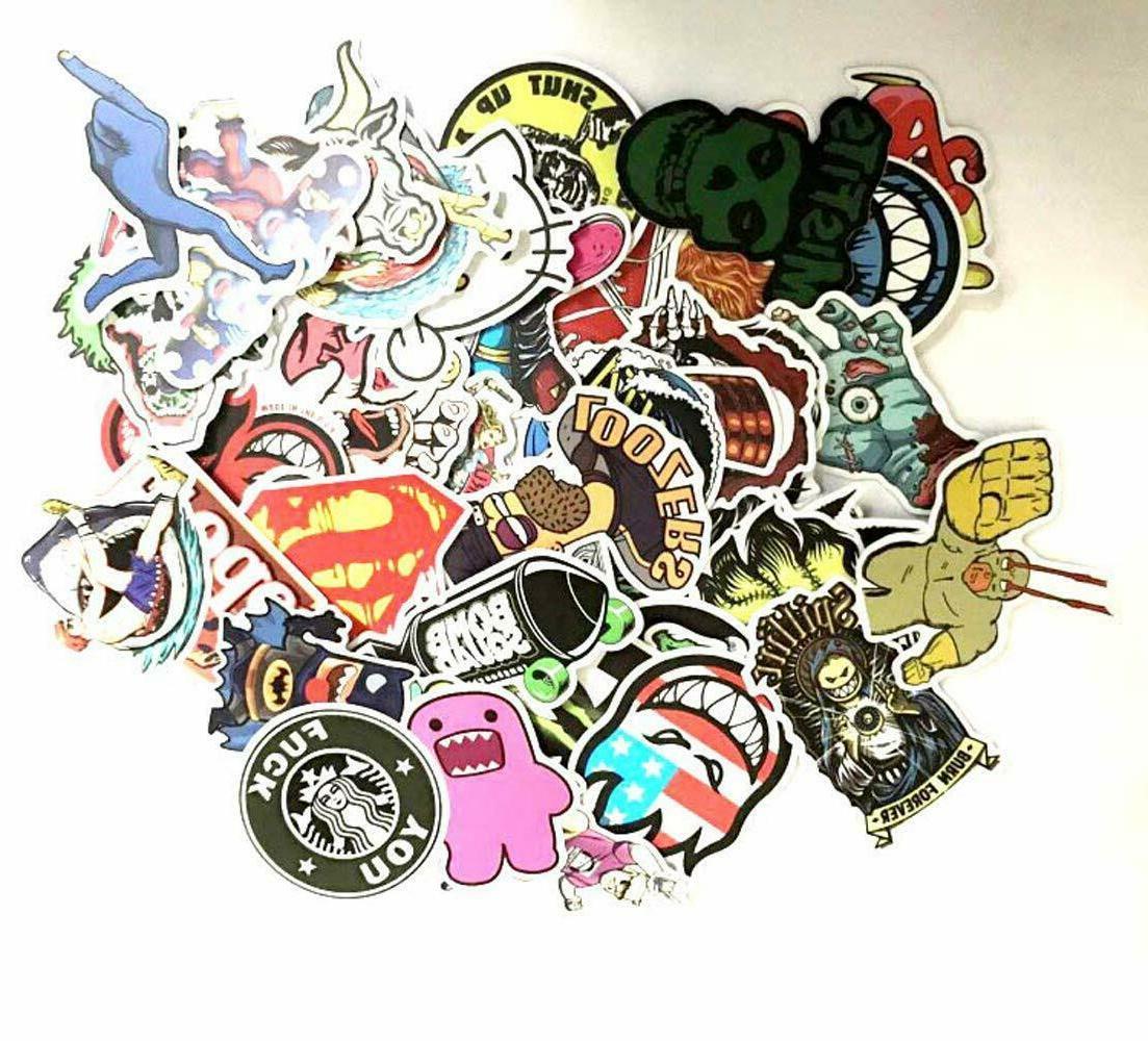 US seller- 1000 Sticker Bomb Graffiti Vinyl For Car Skate Sk