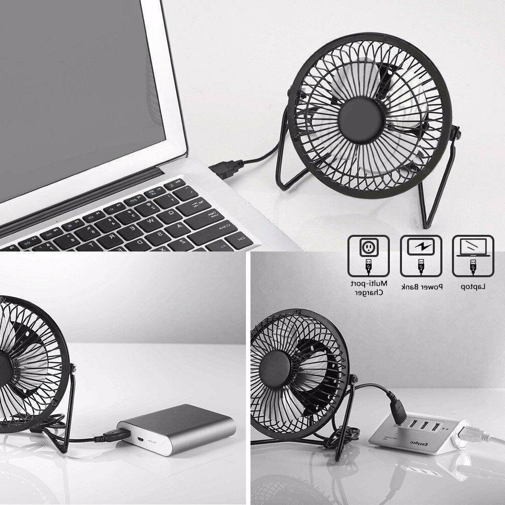 USB Mini Desktop Fan Computer Laptop New