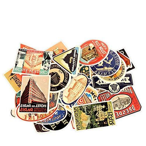 vintage laptop stickers