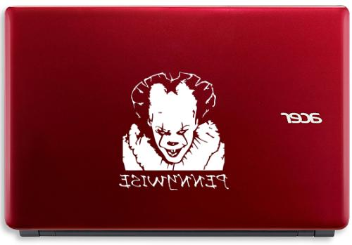Vinyl Decal * PENNYWISE Stephen King Car Sticker