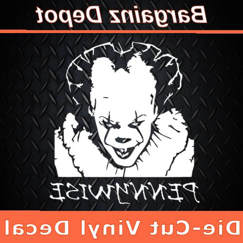 vinyl decal pennywise it chapter 2 stephen